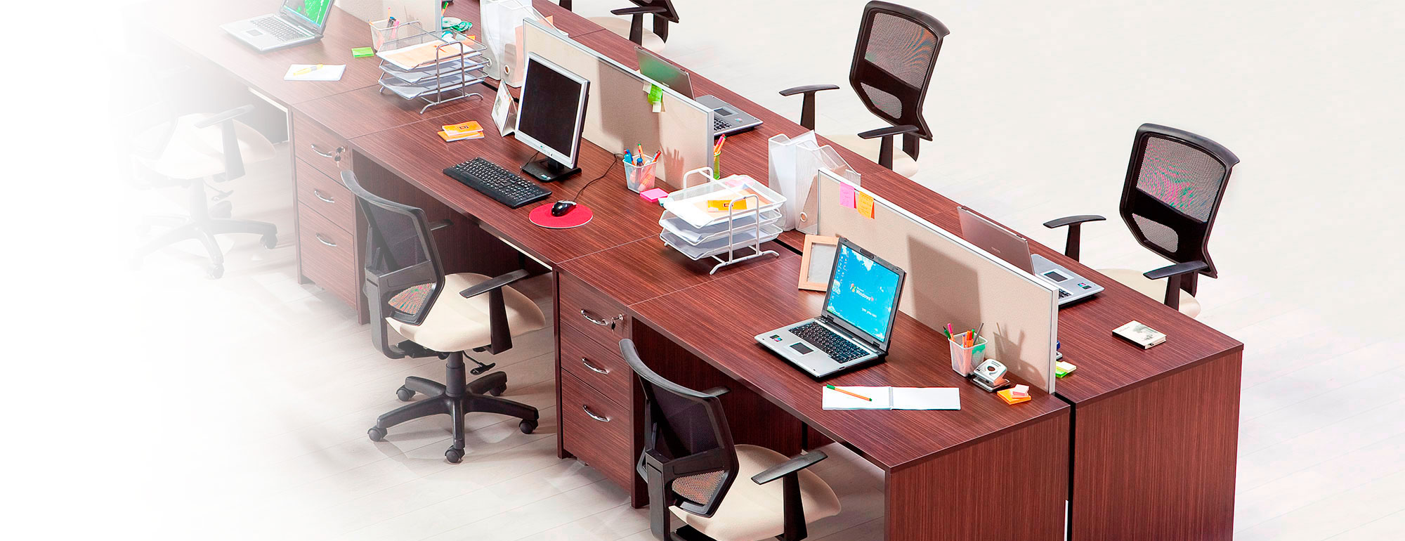 IDEAL DESIGN helps the successful development of your business by creating ergonomic and stylish office furniture.