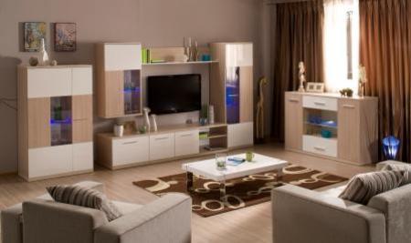 Фото - Гостиные Хельсинки - Embawood.com.ua